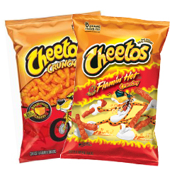 Cheetos Flaming Hot Cheetos Frito Lay Chester Cheetah