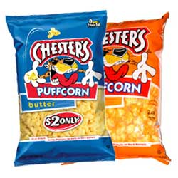 Chesters PuffCorn Cheese Puff Corn Chester's