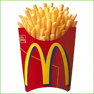 Mcdonalds fries large Mcdonald's